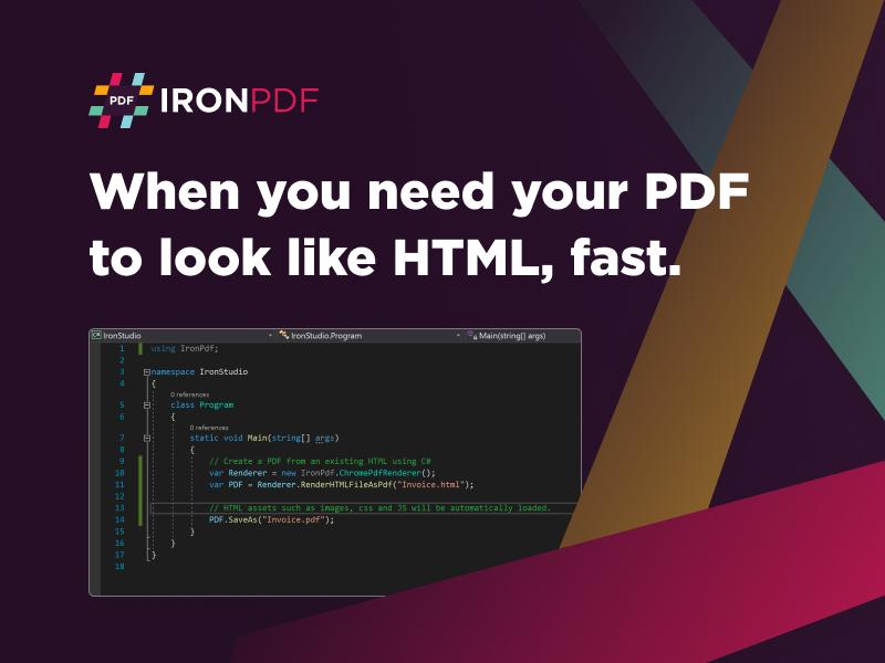 C# .Net PDF Library